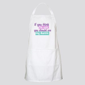 If you think I'm Cute -Auntie Apron