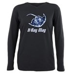 X-Ray Mag Plus Size Long Sleeve Tee