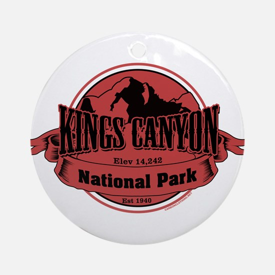 kings canyon 3 Ornament (Round)