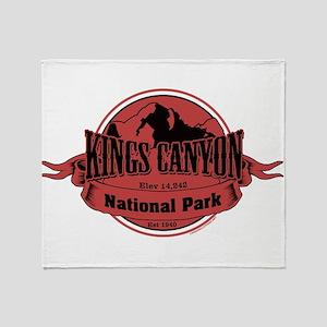 kings canyon 3 Throw Blanket