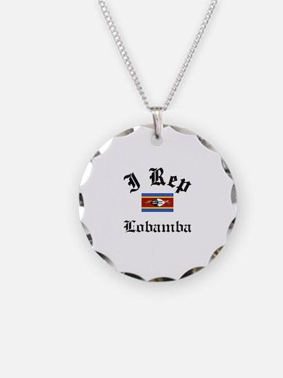 I rep Lobamba Necklace