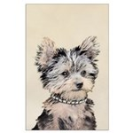 Yorkshire Terrier Puppy Large Poster