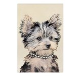 Yorkshire Terrier Puppy Postcards (Package of 8)