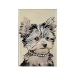 Yorkshire Terrier Puppy Rectangle Magnet