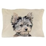Yorkshire Terrier Puppy Pillow Case
