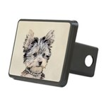 Yorkshire Terrier Puppy Rectangular Hitch Cover