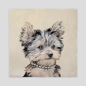 Yorkshire Terrier Puppy Queen Duvet