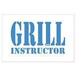 Grill instructor Poster Große XXXXX
