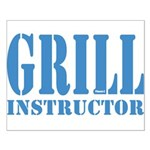 Grill instructor Poster Kleine XXXXX