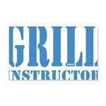 Grill instructor Wandtattoo