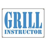 Grill instructor Banner