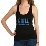 Grill instructor Racerback Tank Top