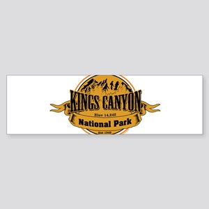 kings canyon 2 Bumper Sticker
