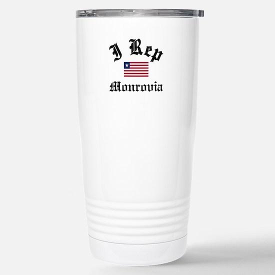 I rep Monrovia Stainless Steel Travel Mug