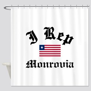 I rep Monrovia Shower Curtain