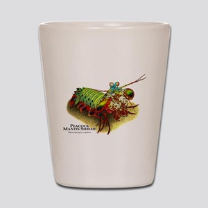 Peacock Mantis Shrimp Shot Glass