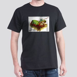 Peacock Mantis Shrimp Dark T-Shirt