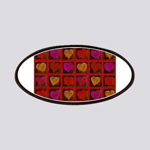 Shelving Hearts Patches