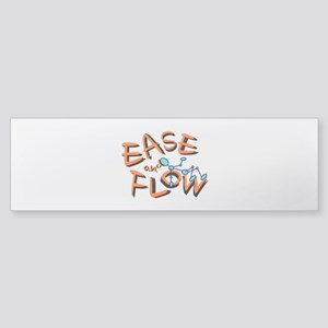 Ease and Flow Bumper Sticker