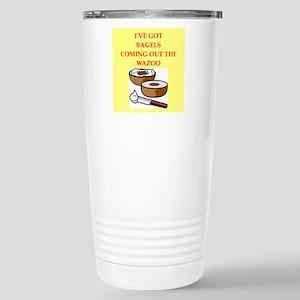 bagels Travel Mug