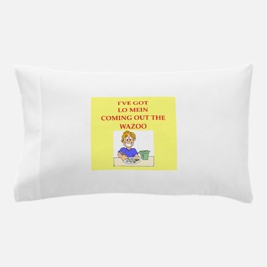 lo mein Pillow Case