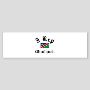 I rep Windhoek Sticker (Bumper)