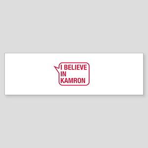 I Believe In Kamron Bumper Sticker
