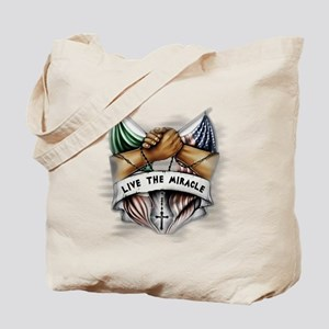 Live the Miracle Tote Bag