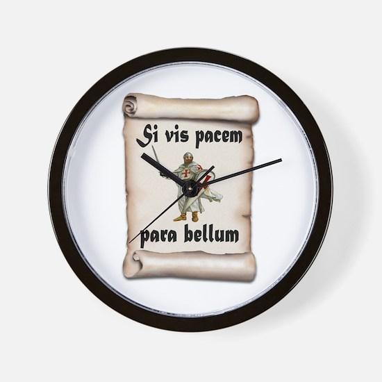 Crusader Wall Clock