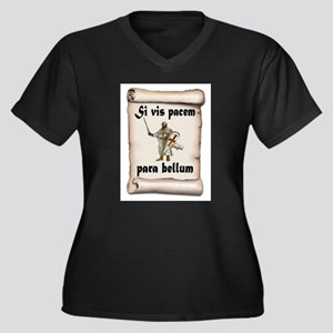 CRUSADER Plus Size T-Shirt