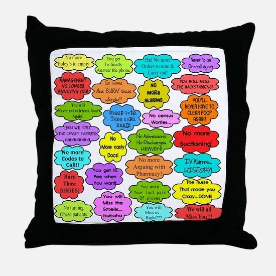 RN pillow Throw Pillow