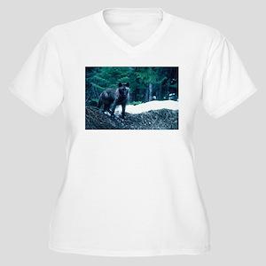 """""""Beautiful Wolf"""" Plus Size T-Shirt"""