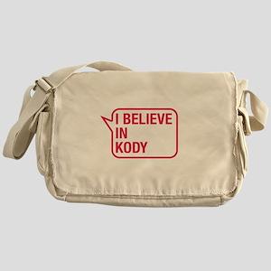 I Believe In Kody Messenger Bag
