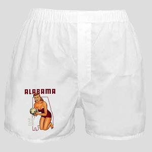 Vintage Alabama Pinup Boxer Shorts