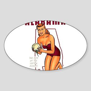 Vintage Alabama Pinup Sticker