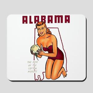 Vintage Alabama Pinup Mousepad