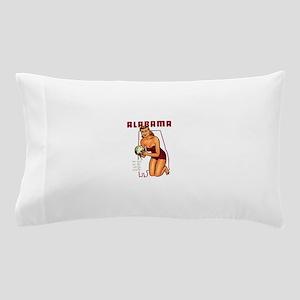 Vintage Alabama Pinup Pillow Case