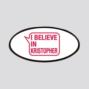 I Believe In Kristopher Patches