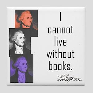 Books: Tile Coaster