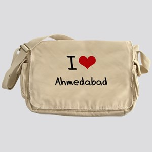 I Heart AHMEDABAD Messenger Bag