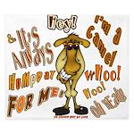 Funny Camel HumpDay -Light King Duvet