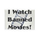 Banned Movies! Rectangle Magnet