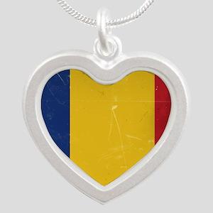 Romania heart Necklaces