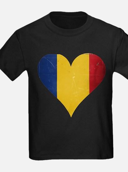 Romania heart T-Shirt
