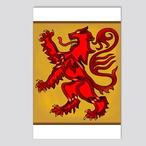 Scots Lion Postcards (Package of 8)