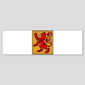 Scots Lion Bumper Sticker