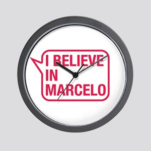 I Believe In Marcelo Wall Clock