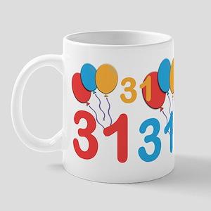31 Years Old - 31st Birthday Mug