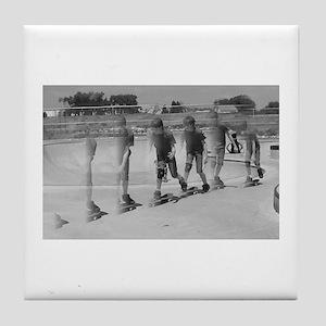 Skateboard time1 Tile Coaster