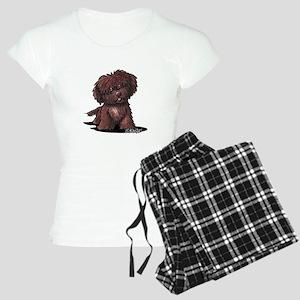 Shih Tzu Chocolate Women's Light Pajamas